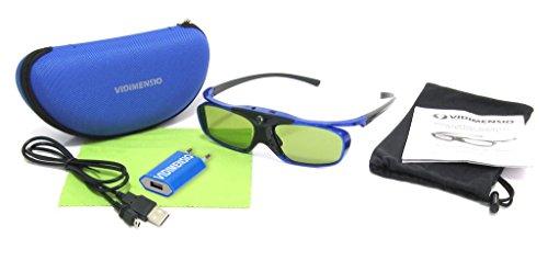 3 Stück 3D Brillen VIDIMENSIO® DLP Pro [7G] 2017 -