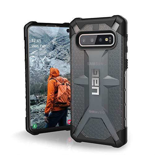 Urban Armor Gear Plasma Custodia Protettiva Cover con Standard Militare Americano Case per Samsung Galaxy S10 [Compatibile con Il Qi Wireless, Resistente agli Urti, Angoli rinforzati] - Grigio