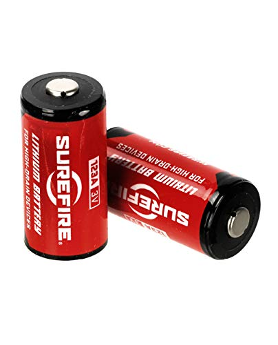 Surefire 123A Lithium-Batterien Einzeln, zwei oder 12-er Set - Unboxed (2 Stk) Surefire Batterie