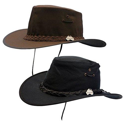 1650aaf3f9de9 Horka Equestrain Track Western sombreros con correa trenzada Equitación  accesorios