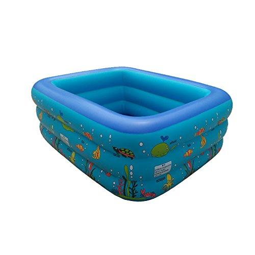 Preisvergleich Produktbild Überdimensioniert Familie Karikatur Aufgeblasen Drei Schichten Pool Dicker Höhe hoch Kind PVC Pool spielen , L
