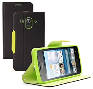 Supremery Huawei Ascend G525 Tasche Case Etui Sleeve Cover Schutzhülle Hülle mit Standfunktion