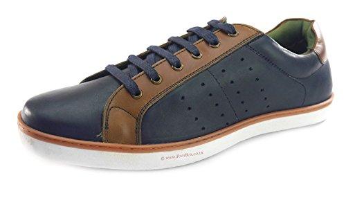 Silver Street , Chaussures de ville à lacets pour homme Bleu Marine