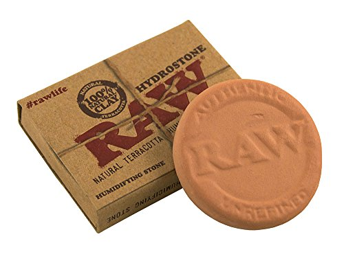 3 pezzi Raw tabakbefeuchter HYDROSTONE TERRACOTTA TON humydrolen humidrole POUCH BUTTON