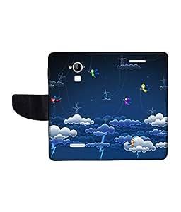 KolorEdge Printed Flip Cover For CoolPad Dazen Note 3 Multicolor - (1479-55KeMLogo11513DazenNote3)