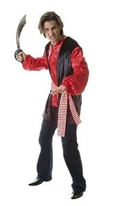 Hilka Cesar D539-002 - Disfraz de pirata, talla 54