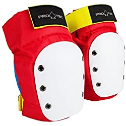 Pro-Tec Street Knee Protecciones, Unisex Adulto, Retro, S
