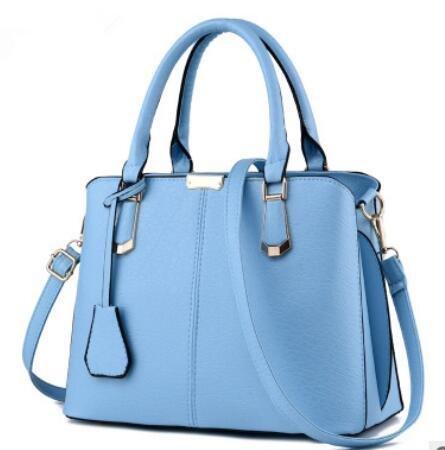 HQYSS Borse donna Coreano moda dolce donna tracolla Messenger , treasure blue days blue