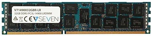Preisvergleich Produktbild V7 V71490032GBR-LR Server DDR3 Arbeitsspeicher 32GB (1866MHZ, CL13, PC3-14900, 240pin, 1.5V, Registered ECC, Load Reduced)