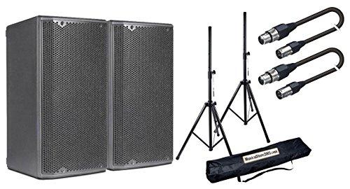 DB Technologies Opera Paar 15Speaker Aktiv 1200W/Ständer/Kabel XLR 10mt