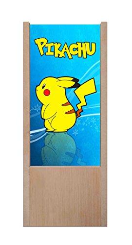 Lmpara-de-mesa-de-madera-Pokemon–Pikachu-Dibujo