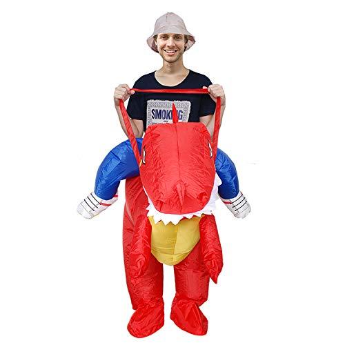 DMMASH Halloween Karnevalskostüme Für Erwachsene Aufblasbare Dinosaurier-Tierkostüm ()