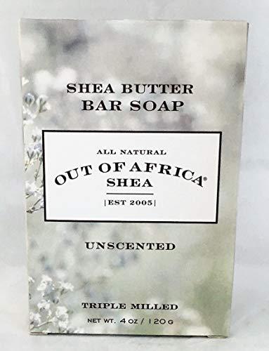 Pur Beurre de Karité Savon, Unscented 4 oz (113 g) - Out of Africa