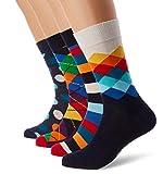 Happy Socks Damen, XMIX09, Mehrfarbig (Mix 6000), 36-40