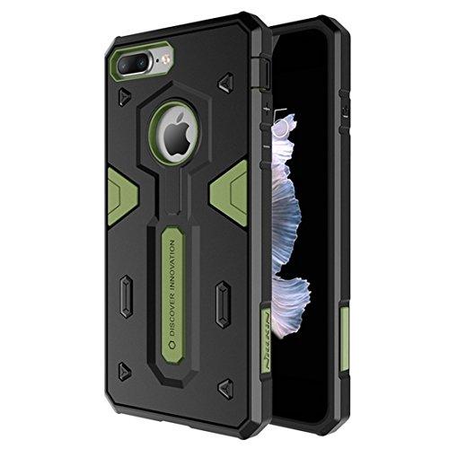 iPhone Case Cover NILLKIN pour iPhone 7 Plus Tough Defener II Boîtier Combiné TPU + PC résistant aux chocs ( Color : Red ) Green