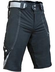 Berkner Herren Fahrrad Hose Radhose Shorts mit Sitzpolster