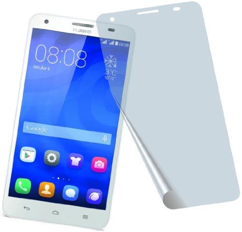 4x Huawei Ascend G750 ENTSPIEGELNDE PREMIUM Displayschutzfolie Bildschirmschutzfolie Schutzhülle Displayschutz Displayfolie Folie