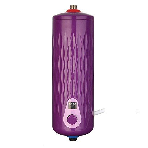 Bluelover 220V insonorizado 5500W electrico instantaneo calentador cocina bano Digital constante temperatura...