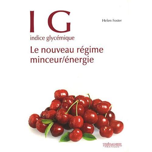 IG indice glycémique : Le nouveau régime minceur/énergie