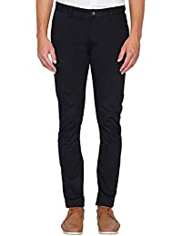 Van Heusen Sport Men's Tapered Fit Cotton Casual Trousers