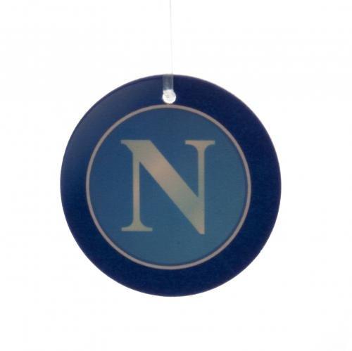 S.S.C. Napoli blaues Wappen Lufterfrischer Offizielle Serie A Merchandise -