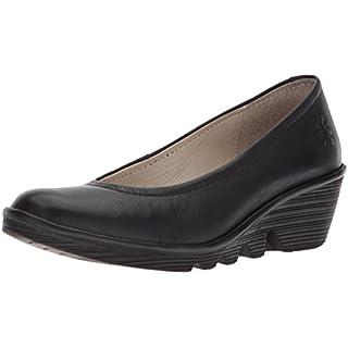 Fly London Pump Women's Ballet Flats - Black (Black), 5 UK (38 EU)