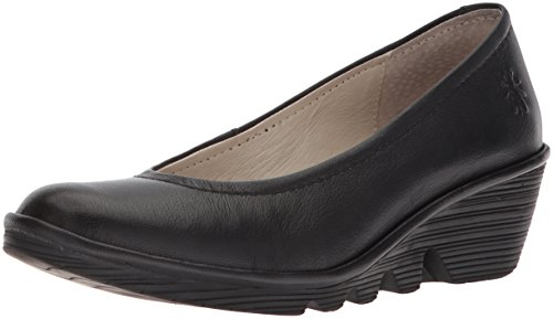 Fly London Pump, Damen Ballerinas, Schwarz (black), 39 EU