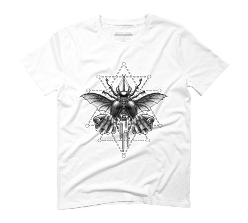 Winya No. 103 Men's Graphic T-Shirt - Design By Humans White