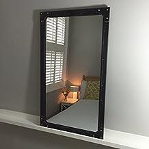 Miroir industriel for Miroir noir dvd