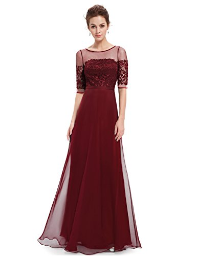 Evening Dresses with Sleeves: Amazon.co.uk