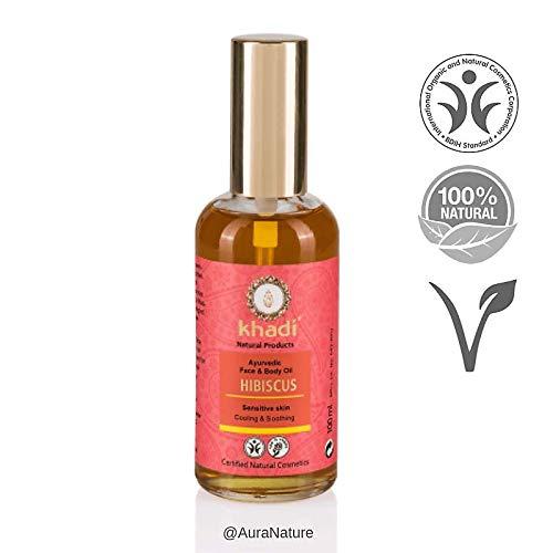 Khadi - Huile de soin Hibiscus