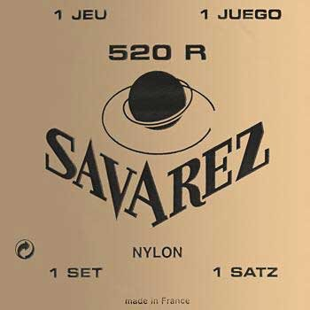 SAVAREZ PACK DE 6JUEGOS 520R CUERDAS PACK DE CUERDAS