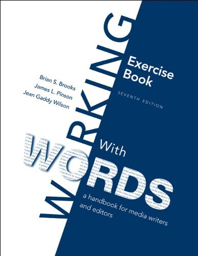 Exercise Book for Working With Words by Brian S. Brooks (2009-11-05)