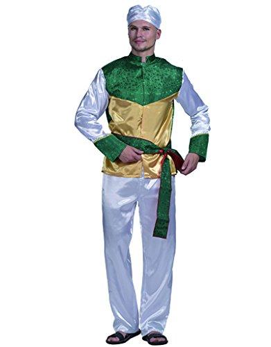 EraSpooky Herren Bollywood Star Halloween Kostüm (Bollywood Kostüme Herren)