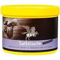 B & E Sattelseife mit Schwamm - 1000 ml
