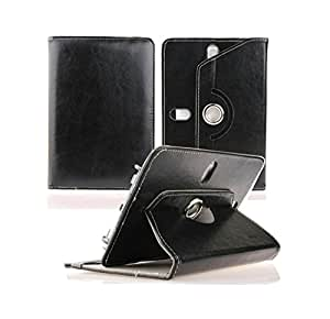 "Azzil Univercel Flip Case Cover Book Cover With Stand 360° Rotating For 10"" Inch Tablet (Black)"