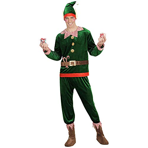 WIDMANN Adultos Disfraz Elf Santas Utensilios