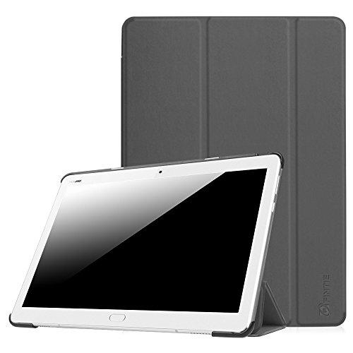 Fintie Huawei Mediapad M3 Lite 10 Hülle - Ultra Dünn Superleicht SlimShell Case Cover Schutzhülle Etui Tasche mit Zwei Einstellbarem Standfunktion für Huawei Mediapad M3 Lite 10 Zoll, Himmelgrau