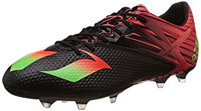 Adidas Men's Messi 15.2 Black, Green and Red Football Boots - 10 UK
