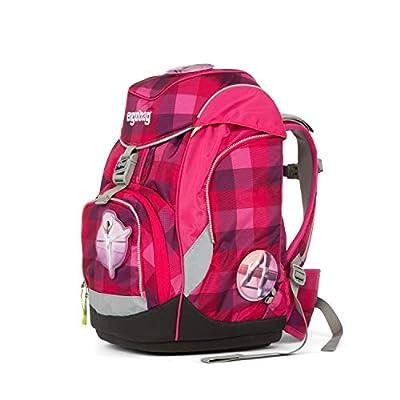 Ergobag Pack RhabarBär, ergonomischer Schulrucksack, Set 6-teilig, 20 Liter, 1.100 g, Pink