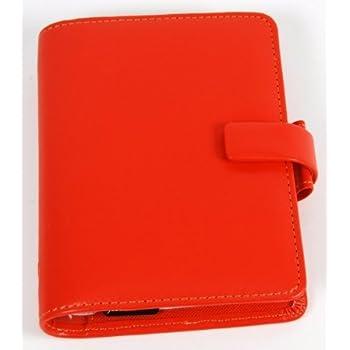 Filofax-Agenda 'Metropol' Pocket in caldo arancione