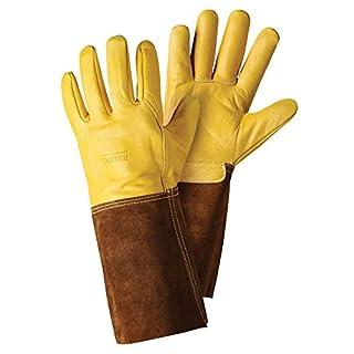 Briers Gauntlet Gloves, Gold, Large
