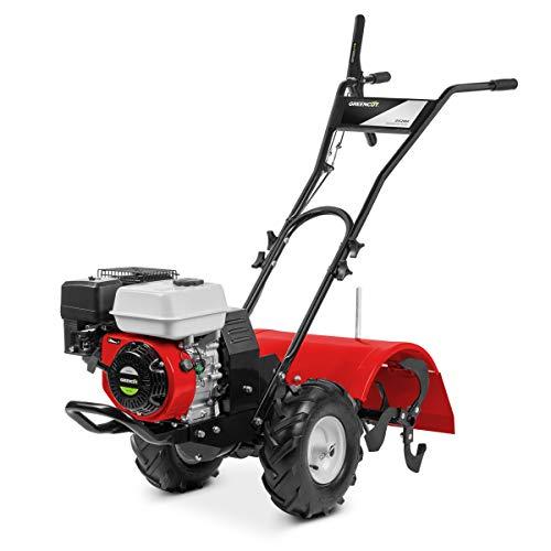Greencut GTC200X GTC200X-Motocultor de Gasolina 6,5cv 50cm Ancho de Trabajo Potente y manejable, Rojo...