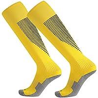 Nikgic - Calcetines de Fútbol - Poliéster - Adecuado para Hombres y Mujeres Deportes Corriendo Fitness