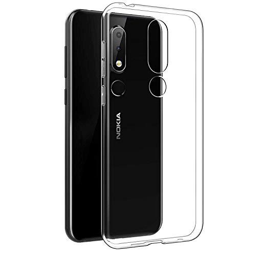 best website e4223 2c60e Newlike Perfect Fitting Bumper Hybrid Edge To Edge Side Protection  Transparent Back Cover For Nokia 6.1 Plus 2018