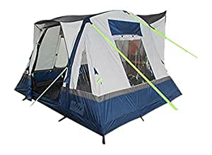 Olpro Cubo Breeze Inflatable Campervan Awning - Blue/Grey, 240 cm