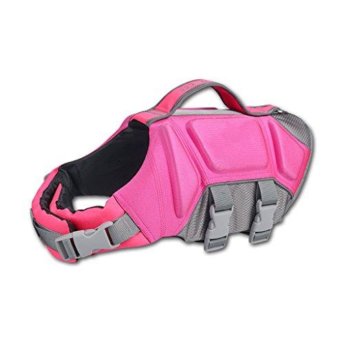 Pet - Helm, Hund Badeanzug, Goldene Fell Badeanzug, Cokie Hund Badeanzug, Teddy Bulldogge, Ein Jackett, Rosa/Orange - Blau (Farbe : Pink, größe : S) (Chihuahua Badeanzug)