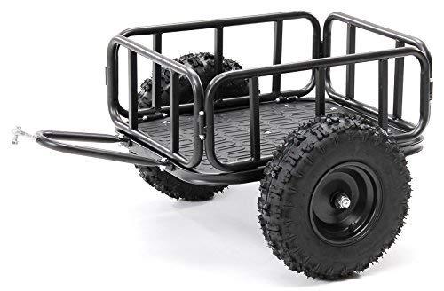 Actionbikes Motors Anhänger Trailer für Kinder Mini Quad Reneblade - Universal einsetzbar - Luftreifen - Traglast 70Kg