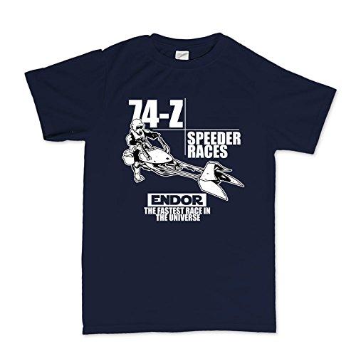 74-Z Speeder Bike T-shirt Navy Blau