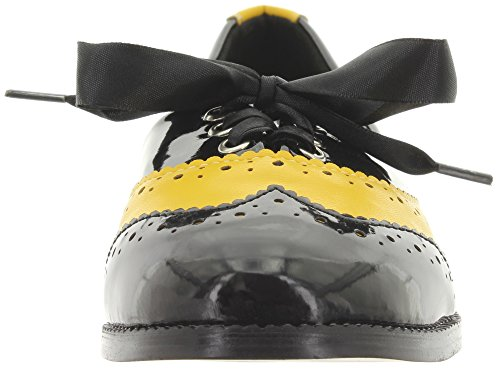 Dancing Days by Banned Schnürer MILANA BND112 Black-Yellow